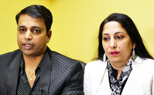 Andy & Rekha Acharya