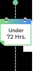 Under 72 hrs