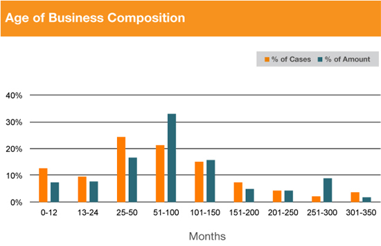Age of Business compostion Graph