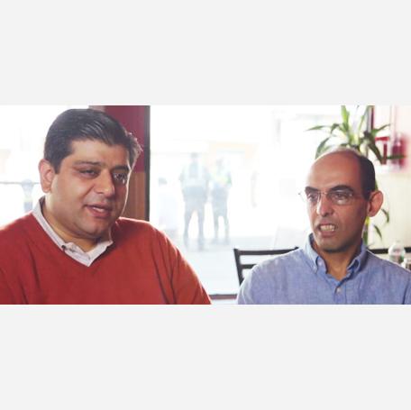 Satinder Sharma & Firdosh Irani