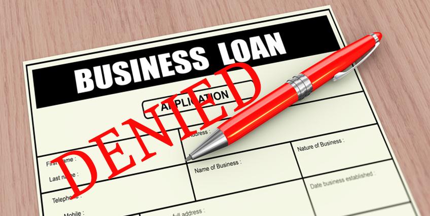 Business Loan Application Denied